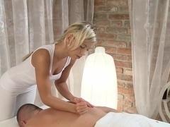 Exotic pornstar in Hottest Lesbian, Blonde adult scene