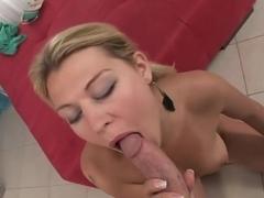 Fabulous pornstar Kristi Lust in horny tattoos, creampie porn scene