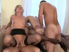 Big cocks, little cocks, skinny ones and fat ones handle this group of lusty ladies