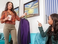 Sapphire,Gemini Alani in Lesbian Beauties #11 - All Black, Scene #02