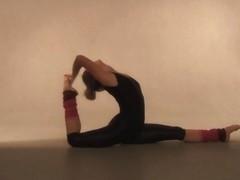 Mashka Pizdaletova - Gymnastic Video part 1