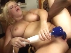 British whores Alicia and Ashley acquire drilled by a BBC