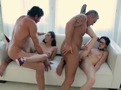 DaughterSwap- Teenagers Tricked Into Fucking Their Dads