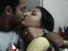 Non-Professional Indian Pair Honeymoon