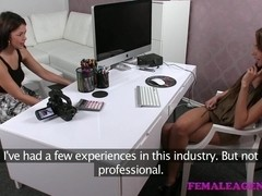FemaleAgent: English rose on Czech couch
