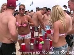 SpringBreakLife Video: Bikini Beach Party