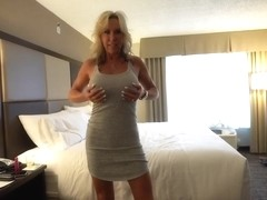 Milf on the Bed