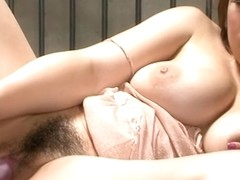 Wet Asian slut in lingerie