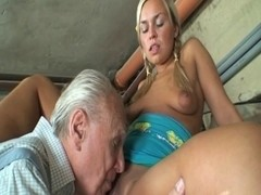 Granny pair having a valuable one with juvenile slit