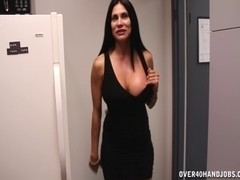 Breasty Brunette Hair Mother I'd Like To Fuck Cook Jerking