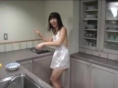 KOURAI Mina naked apron