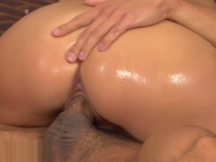 slippery big cock nuru sex massage