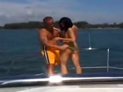 Couple sex video featuring Ashley and Captain