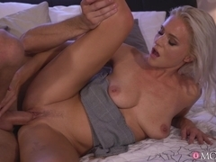Amazing Natural Milf Gets Creampie - MomXxx