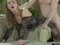 PantyhoseLine Movie: Barbara and Rolf