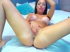 KittyCutie opened her legs
