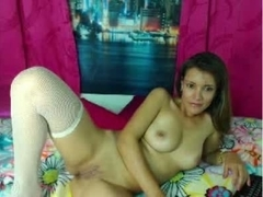 Hot Colombian Latina on Webcam