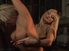 Incredible pornstars Lea Lexus, Adriana Russo in Amazing Femdom, Blonde porn video