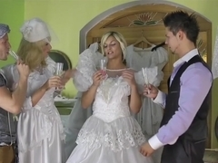 Amazing pornstars Klarisa Leone, Bella Morgan and Barra Brass in fabulous facial, group sex porn clip
