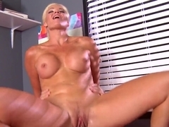 Fit milf babe is being fucked by Ramon