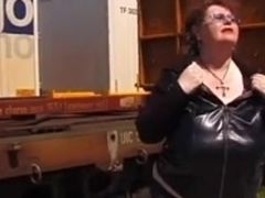 Biggest titted granny Gretl