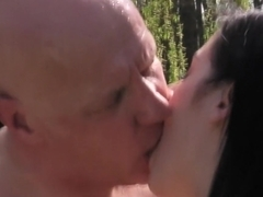 Incredible pornstar in horny small tits, outdoor adult movie