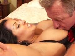 Amazing pornstar in Incredible Lingerie, Latina adult clip