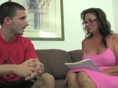 Amazing pornstar in Incredible Handjobs, Mature adult movie