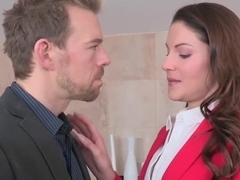 Amazing pornstars Lily Love, Samantha Ryan in Fabulous Cumshots, Femdom sex movie