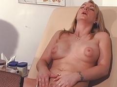 Exotic pornstar in horny mature, voyeur sex movie