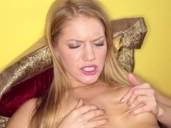 Best pornstar Connie Carter in Exotic Masturbation, Blonde sex scene