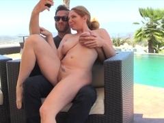 Incredible pornstar in Exotic Blowjob, Blonde sex clip