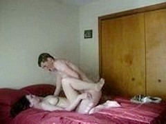Passionate Girlfriend gets pounded