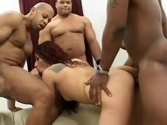 Lusty Dulce wants to feel a thick black bone in her every hole