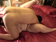Amateur girlfriend pussy aches for cum: homemade creampie