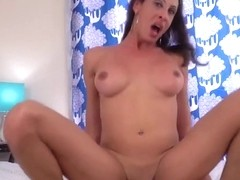 Young Euro beauty on a cock