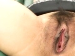 Miina Minamoto is aroused with vibrator and gets cum in