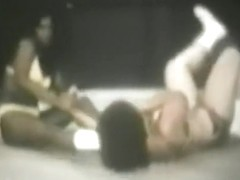 Vintage Girls Bikini Wrestling Silent 8 mm 3