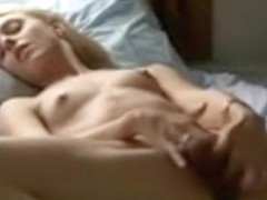 Great bedroom masturbation