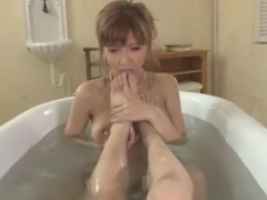 Best Japanese model Miku Kohinata in Horny POV, Foot Fetish JAV movie