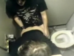 German Emo Teens in Toilet fucking ... He wants her Ass, but she denied