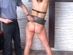 Spanking wheights wax and fuck