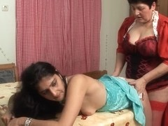 Romana,Gunid Moll in FunMovies video:Strapon Amateurs