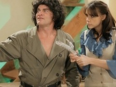 Chanel Preston in Sex Friendly Mindy Fucks Mork's Eager Boner
