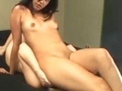 Brazilian lesbo Sofia Faber is having her butt licked
