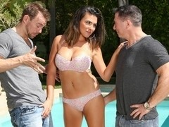 Danica Dillon, John Strong, Erik Everhard in DP My Wife With Me #06,  Scene #03