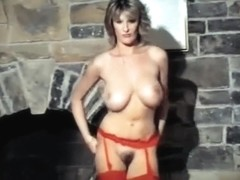 WALK THIS WAY - vintage British huge tits dance tease