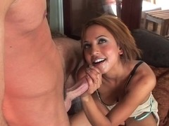 Tender spooning and hard fuck for Veronique Vega