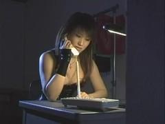 Natsuki in SADOMASOCHISM lesbo club