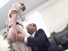 Reiko Sawamura Gets Double Finger Penetration In The Office